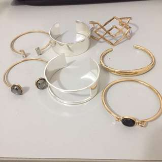 Arm cuffs / bracelets / bangles