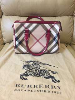 Burberry 小號 Boston bag classic