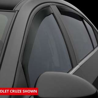 Chevrolet cruze 2014 WeatherTech In-Window Channel Rain Guard