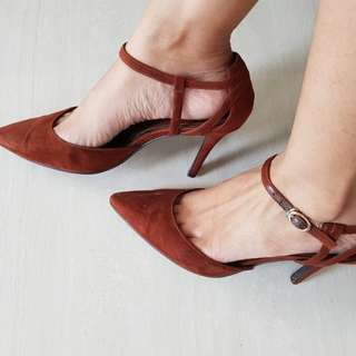 Charles & Keith Brown Heels