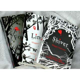 Shiver Trilogy by Maggie Stiefvater (Shiver, Linger, Forever)