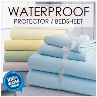 Waterproof Bedsheet & Baby Cot Protector.