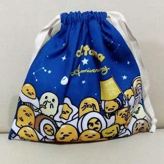 5th Gudetama Palmier with straw bag(梳乎蛋袋連蝴蝶酥)