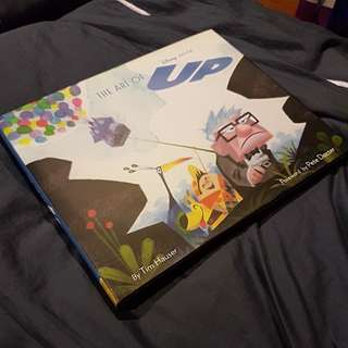 Pixar the art of up illustration art book