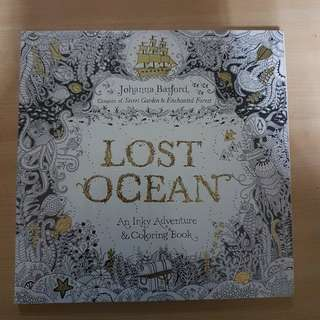 Lost Ocean An Inky Adventure & Coloring Book