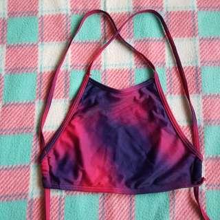 Galaxy Halter Bikini Top