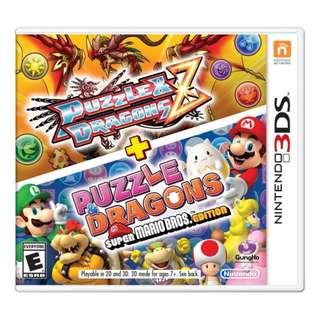 3DS Puzzle & Dragons Z + Puzzle & Dragons: Super Mario Bros. Edition