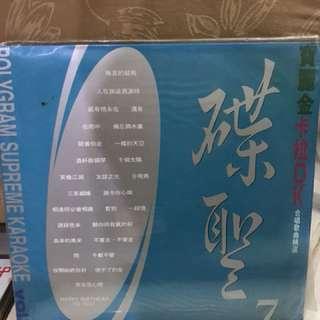 寶麗金碟聖7卡拉OK LD碟