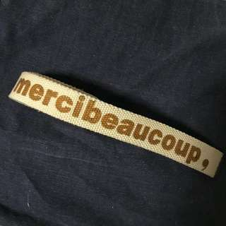 Mercibeaucoup 布帶