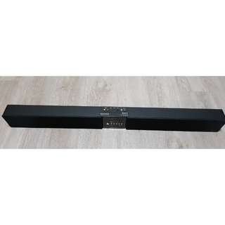 "Karaoke SoundBar with two Wireless Microphone + 8"" Wireless WS9 Active Subwoofer"