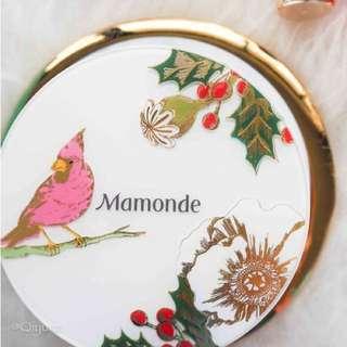 Mamonde brightening cover powder cushion + refill (Shade 21N)