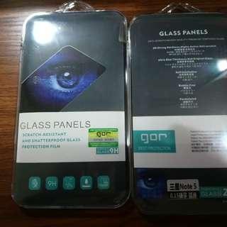 Samsung Note 5 全新Gor 康寧 鋼化貼 2張