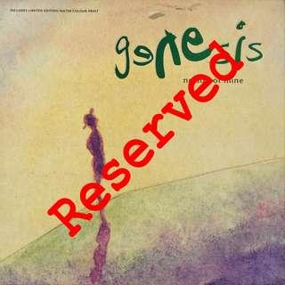 genesis, Vinyl LP, used, 12-inch original pressing