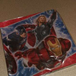 Hallmark Avengers party napkins