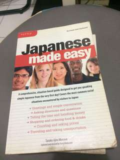 Japanese Made Easy Book