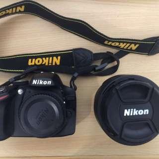 Nikon D3200 +18-105mm