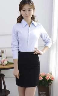 Bnwt brand new with tags black office skirt