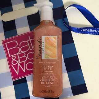 Brand New! Bath and Body Works hand soap USA fragrance scent