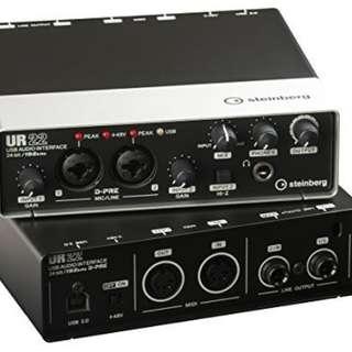Steinberg UR22 Audio Interface 2nd Gen