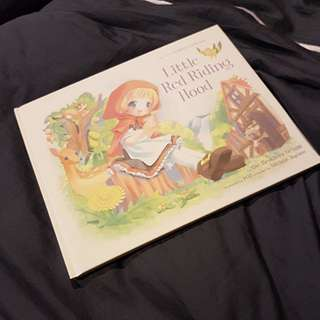 Pop wonderland series little red riding hood anime art picture book