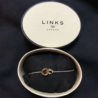 Links of Lindon 925 Silver linked Bracelet