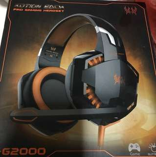 Gaming headset kotion each