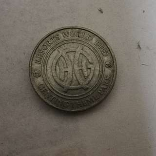 Genting Theme Park old type token