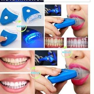 White Light Transmitter Teeth Whitener + Whitening Gel