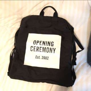 Opening Ceremony tote bag Knapsack Canvas Bag Backpack