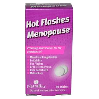 NatraBio Hot Flush Menopause