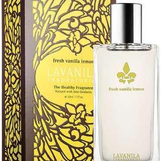 Lavanilla lemon vanilla perfume