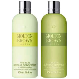 Brand new molton brown flossing shampoo and condition set