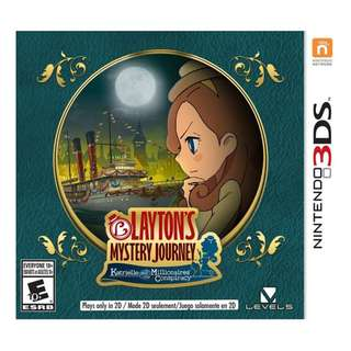 3ds Layton's Mystery Journey: Katrielle and The Millionaire's Conspiracy