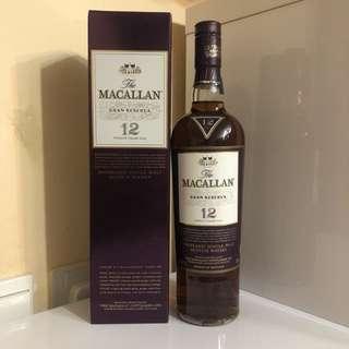 Macallan Gran Reserva 12 Years 700ml 威士忌