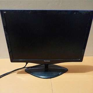 "View Sonic Desktop Computer 16 Inches monitor ViewSonic 16"" 電腦mon螢幕 電腦LCD紫黑色屏幕 液晶顯示器 顯示屏 VS1962WMP / VS11979  (16×10"") Purple & Black Colors"