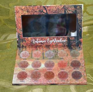 Makeup Palete Autumn Eyeshadow