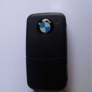 Uncut BMW Car Flip Remote Key 4-Buttons, Never Used but kept for a long time