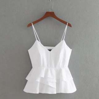 (More cols) Sweetheart bustline strap top