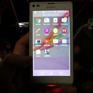 Sony Xperia L  c2105  ( read& see my carousel information other phone)