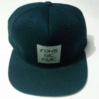 Topi snapback Foks.sicflic Original (navy)