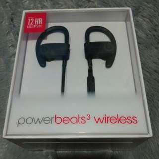 BEATS Power beats 3 Wireless 無線藍牙 Bluetooth 耳機耳筒