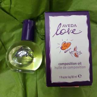 Aveda Love Composition Oil for hair & body - Brand new