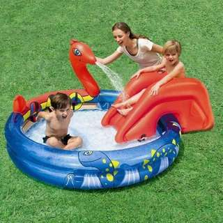 Bestway pool with slide