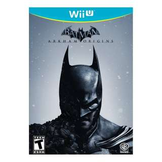 Wii U Batman: Arkham Origins