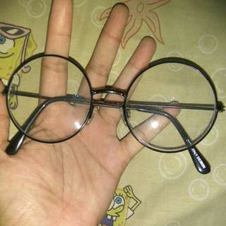 Kacamata harry potter bulat kutu buku