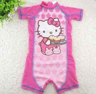 Swimming suit for kids, suitable for 2-3 years old