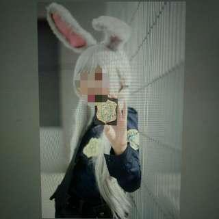 Judy hopps police cosplay