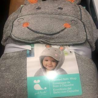 Baby Hooded Bath Wrap