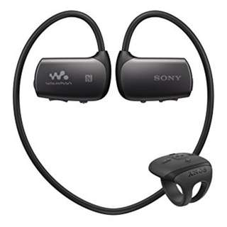 Sony Waterproof Sports MP3 Earphones