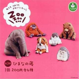 zoo zoo zoo休眠動物園3 日本扭蛋
